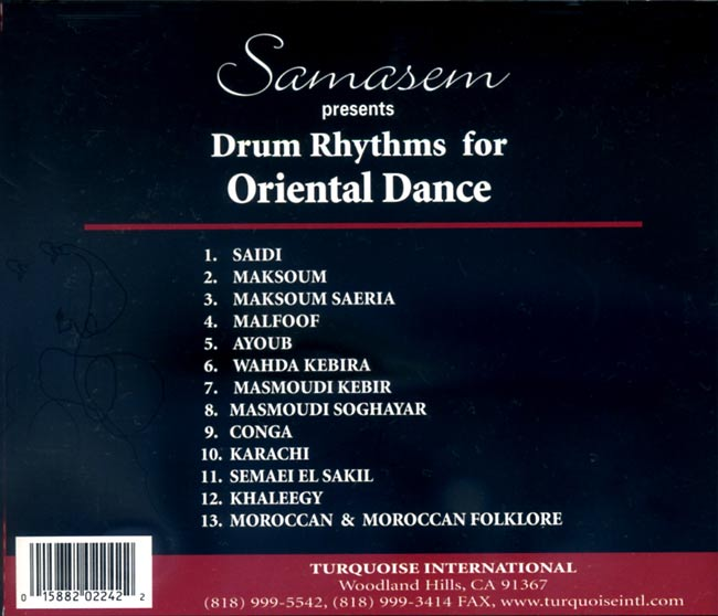 Samasem Presents Drums Rhythms For Oriental Dance 2 -