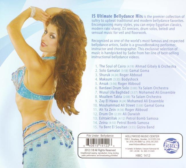 15 Ultimate Bellydance Hits[CD] 2 -