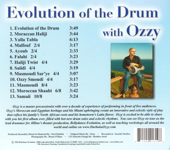 Evolution Of The Drum with Ozzy[CD] 2 -