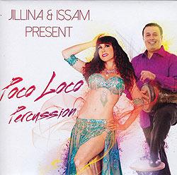 JILLINA & ISSAM PRESENT Poco Loco Percussion[CD]