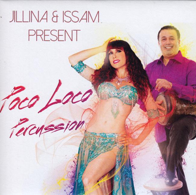 JILLINA & ISSAM PRESENT Poco Loco Percussion[CD]の写真