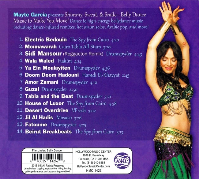 Mayte presents - Shimmy Sweat and Smil Belly Dance Music to Make You Move 2 -