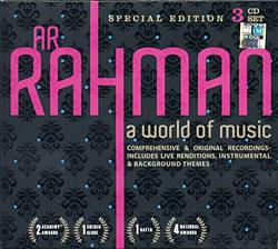 A.R. Rahman - A World of Music [3CD]の写真