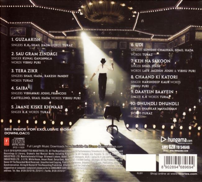 Guzaarish[CD] 2 -