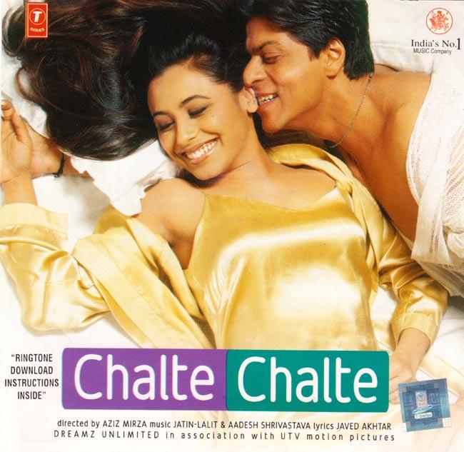 Chalte Chalte (MusicCD) 2 - こちらのジャケットの場合もあります。
