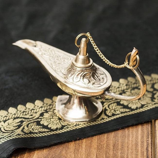 アラジンの魔法のランプ 【14cm×8cm】の写真4 - グラマラスな曲線が美しいです。