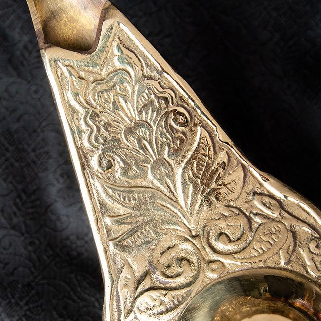 アラジンの魔法のランプ 【22cm×12cm】 3 - 蓋を外してみました。オイルランプとしてもお使いいただけます。