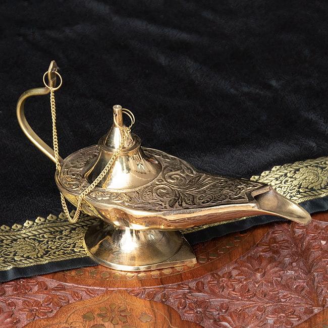 アラジンの魔法のランプ 【22cm×12cm】の写真