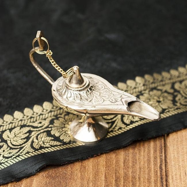 アラジンの魔法のランプ 【10cm×7cm】の写真