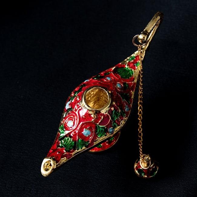アラジンの魔法のランプ 【12cm×6.5cm】 4 - 上からの写真です