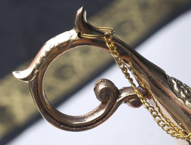 アラジンの魔法のランプ 【19cm×12cm】の写真4 - 美しい曲線の取手
