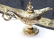 アラジンの魔法のランプ 【19cm×12cm】