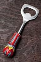 ジャイプルポッタリーのボトルオープナー(栓抜き)