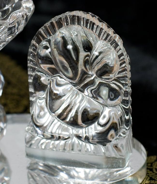 ガネーシャのグラスキャンドルスタンドの写真8 - 丸めのガネーシャはこんな感じ