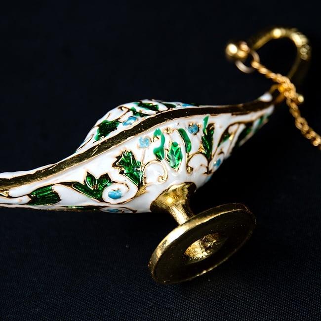 アラジンの魔法のランプ 【12cm×6.5cm】 6 - 側面も美しいです。