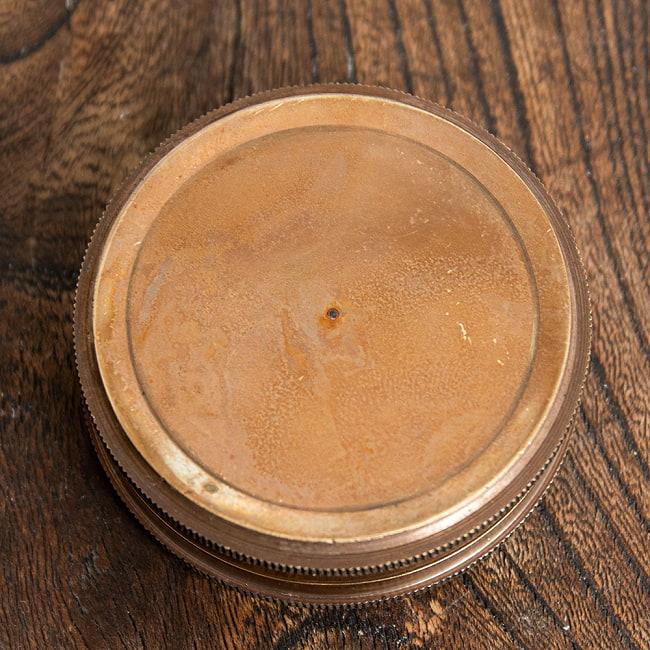 【直径約5.7cm】大英帝国時代のアンティークコンパス - Robert Frost 7 - 1:カッパー
