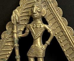 オリッサ先住民族の衣類ハンガー -