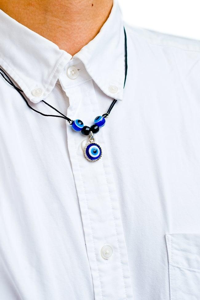 ナザール・ボンジュウのネックレス 5 - 実際に付けてみました