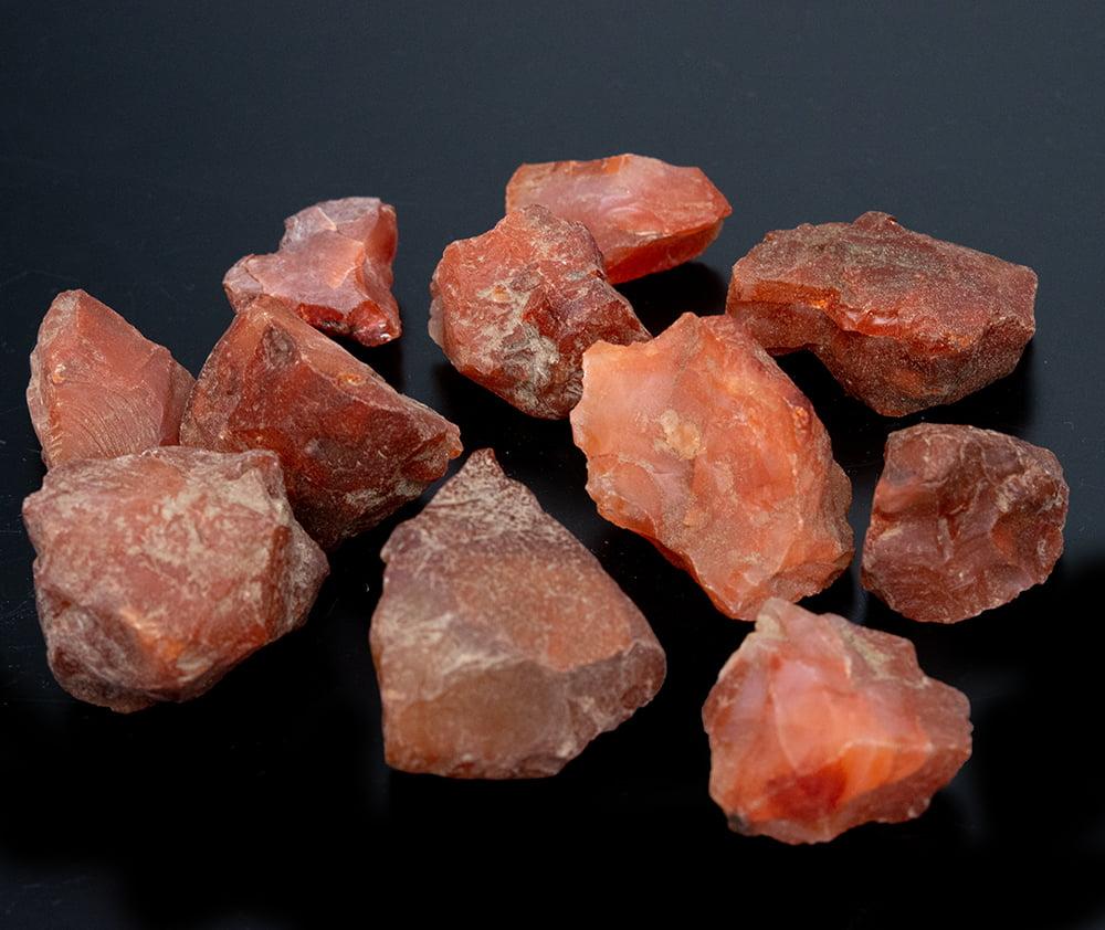 レッドジャスパーの原石[600g]の写真