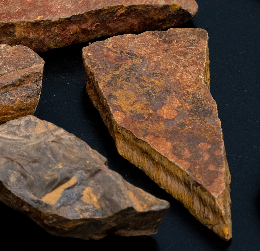 タイガーアイの原石[50-70g][アソート] 3 - アップです