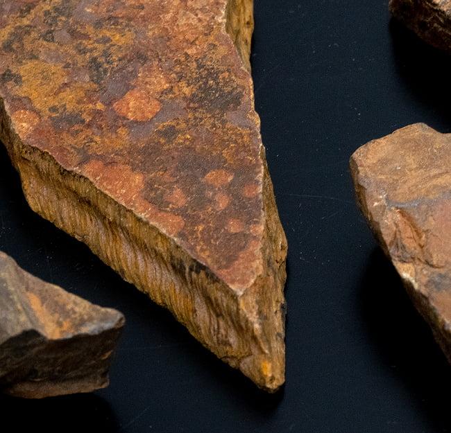 タイガーアイの原石[50-70g][アソート] 4 - アップです