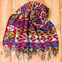 伝統ダッカ織りデザインのストー
