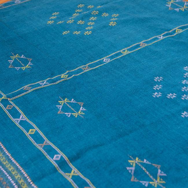 【1点もの】ブジョーディ村の手織りショール 7 - 独特な雰囲気がとても素敵です。