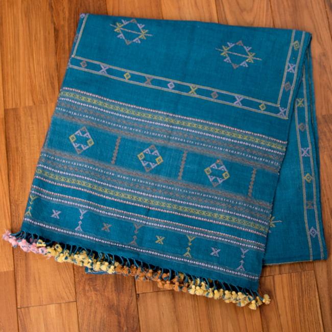 【1点もの】ブジョーディ村の手織りショール 1