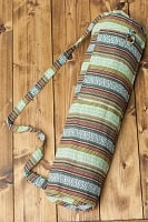 [ワイドサイズ]ネパール織り布のヨガマットバッグ
