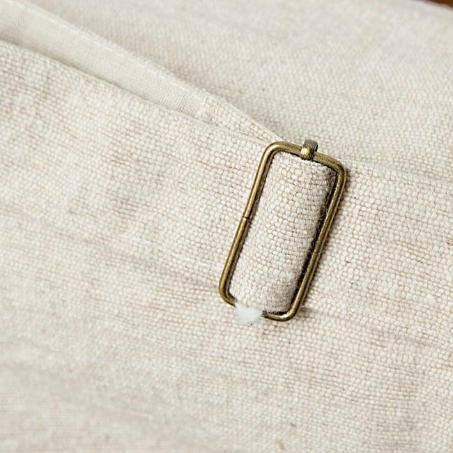 コットンヨガマットバッグ【OM】Mサイズの写真8 - 底部分です^^