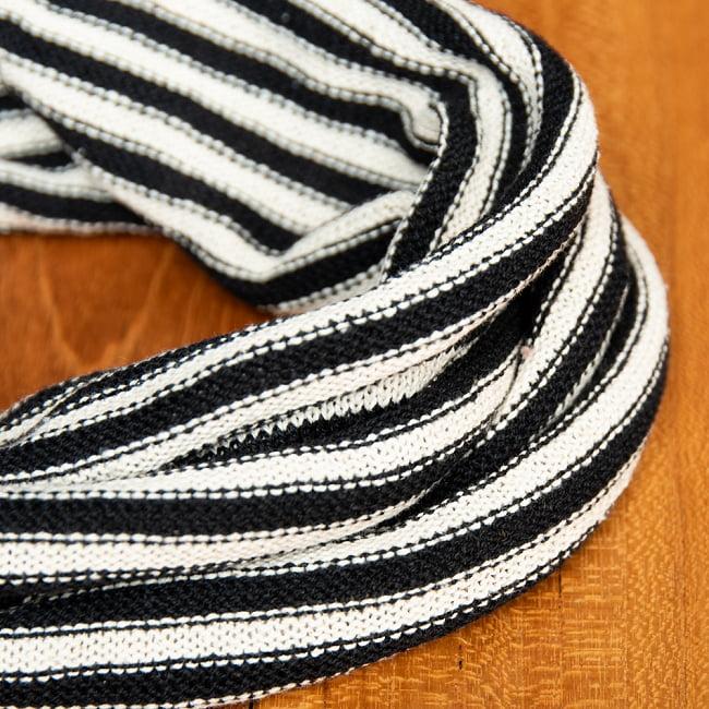 コットンが気持ちいい!万能スヌードターバン 4 - 素材感はコットンなので、肌にも優しく気持ちの良い質感です。