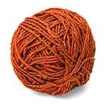 〔手芸用〕カラーヘンプボール - オレンジ