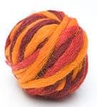 カラーウールボール - 赤系