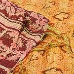 【1点物】インドのカンタ刺繍シ