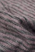 ふんわり起毛のライトスヌード - ダークピンク系