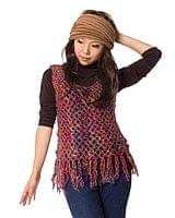 シルク編みベスト - ショートの商品写真