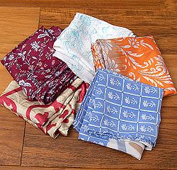 オールドサリーのスカーフ&ハンカチ 約40cm×約40cm