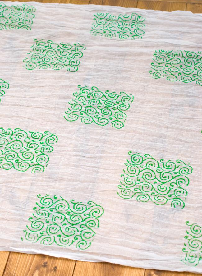 【ウッドブロック】インドのクリンクルストールの写真2 - 幅もあるので、使い勝手が良いです。