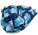 (タイダイ) インドのクリンクルストール -  紺×水色