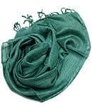 カディコットン風シンプルスカーフ- 緑