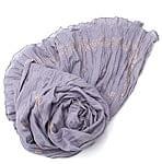 (ウッドブロック)インドのクリンクルストール - 薄紫