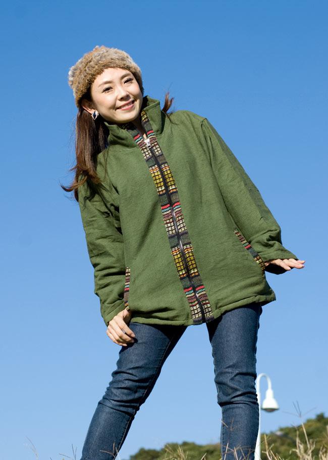 ゲリラインのライトジャケットの写真