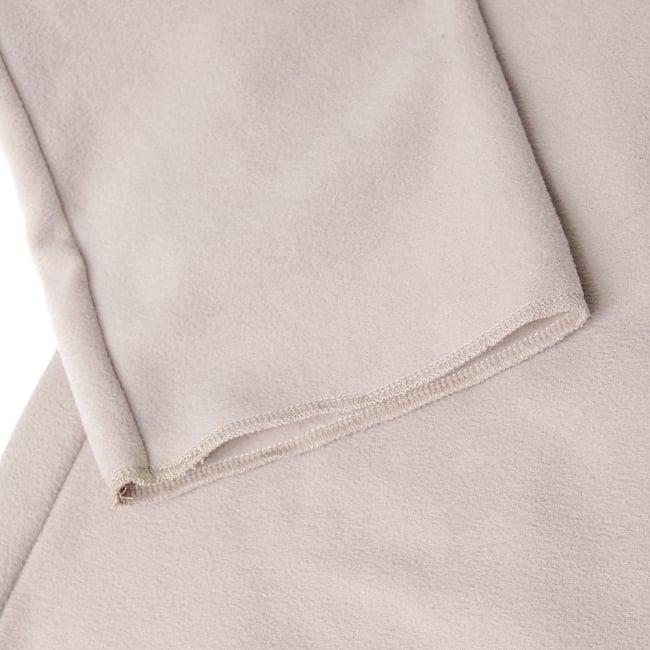 7CHAKRAのフリースジャケット  15 - 袖口はシンプルです
