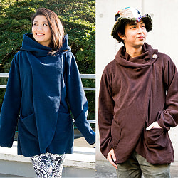 7CHAKRAのフリースジャケット の商品写真