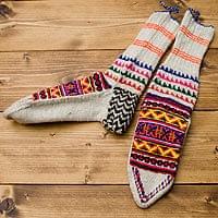 マナリの靴下 - ラムウール