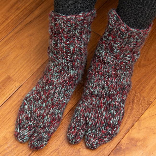 足元を優しく彩る マナリの靴下 - MIX 5 - 病みつきになる履き心地です。