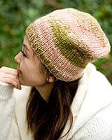 ウールニット帽 【ベビーピンク】