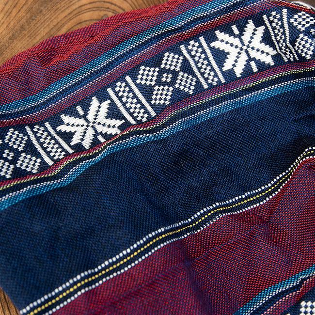 ターイ族の手作りカラフルヘアバンド【1点アソート】 6 - ターイ族独特のデザインが素敵です。