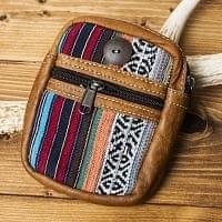 エスノ刺繍レザータバコケース -