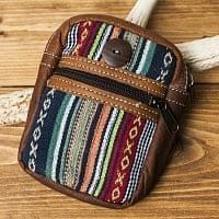 エスノ刺繍レザータバコケース - マーブル系